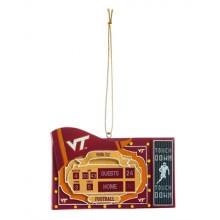 Virginia Tech Hokies Scoreboard Ornament