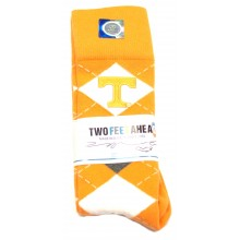 Tennessee Volunteers Child Argyle Socks (Size 9-12)