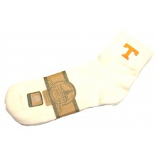 Tennessee Volunteers Child White Quarter Socks (Size 8-13)