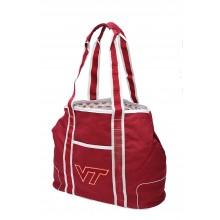 Virginia Tech Hokies  Canvas Hampton Tote Bag