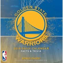 Golden State Warriors 2019 Boxed Desk Calendar