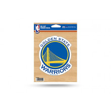 "Golden State Warriors 5.75"" X 7.75"" Die-Cut Window Decal"