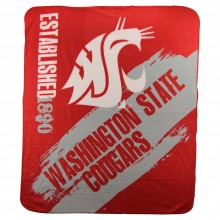 Washington State Cougars Established Fleece Throw Blanket