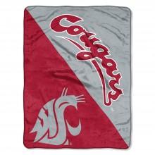 Washington State Cougars Super Plush Fleece Throw
