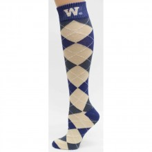 Washington Huskies Argyle Dress Socks