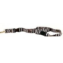 NCAA Washington Huskies Zebra Print Breakaway Lanyard Key Chain