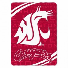 NCAA Washington Cougars XXL Plush Blanket