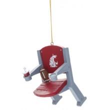 Washington State Cougars Stadium Chair Ornament