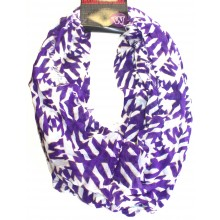 NCAA Licensed Washington Huskies Aztec Infinity Scarf