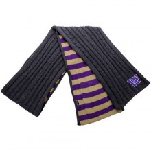 Washington Huskies Charcoal Varsity Pocket Scarf