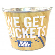 "Budweiser ""We Get Buckets""  Beer  Bucket"