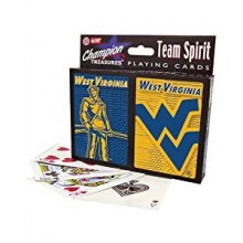 West Virginia Mountaineers 2 Packs of Playing Cards