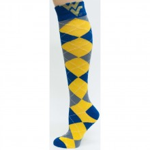 West Virginia Mountaineers Aryle Dress Socks