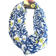 NCAA Licensed West Virginia Mountaineers Aztec Infinity Scarf