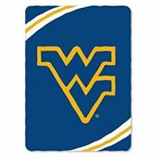 NCAA West Virginia Mountaineers XXL Plush Blanket