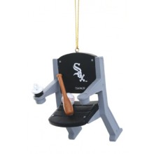 Chicago White Sox Team Stadium Chair Ornament