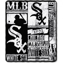 "Chicago White Sox 50"" x 60"" Established Fleece Throw Blanket"