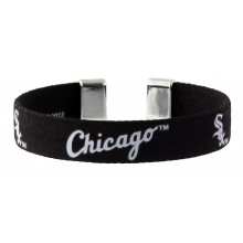 Chicago White Sox Ribbon Band Bracelet
