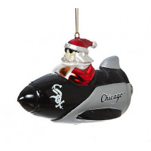 Chicago White Sox Santa on a Rocket