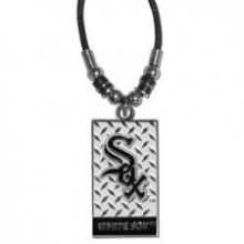 Chicago White Sox Diamond Plate Rope Necklace, 20-Inch