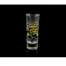 Wichita Shockers 2 oz Cordial Shot Glass