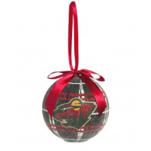 Minnesota Wild 100 MM LED Ball Ornament