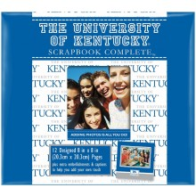 "Kentucky Wildcats 8"" X 8"" Complete Scrapbook Kit"