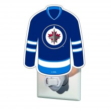 Winnipeg Jets Jersey Night Light