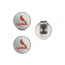 MLB St. Louis Cardinals Hat Clip and Magnetic Ball Marker 2 Pack