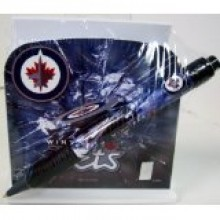 Winnipeg Jets Stationery Desk Caddy with Matching Ballpoint Grip Pen