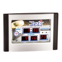 Winnipeg Jets Scoreboard Desk Clock