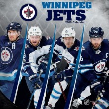 Winnipeg Jets 12 x 12 Wall Calendar