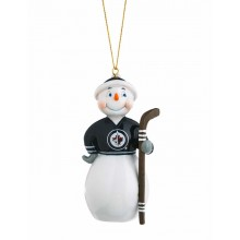 Winnipeg Jets Jock Frost Snowman Ornament