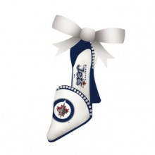 Winnipeg Jets Team High Heel Shoe Ornament