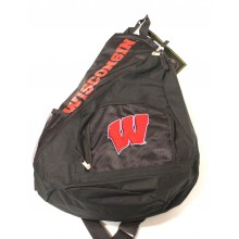Wisconsin Badgers  Sideswipe Sling Backpack