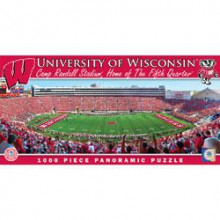 Wisconsin Badgers  1000 pc. Panoramic Puzzle