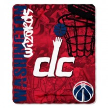 NBA Washington Wizards Hardknocks Fleece Throw Blanket