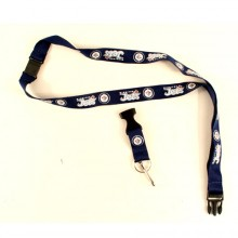 NHL Winnipeg Jets Team Color Breakaway Lanyard Key Chain