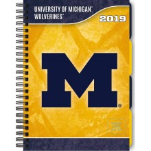 Michigan Wolverines 2019 Tabbed Planner Personal Organizer