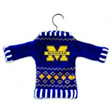 Michigan Wolverines 5 1/2'' Knit Sweater Ornament