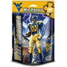 West Virginia Mountaineers 100 Piece Puzzle
