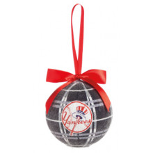 New York Yankees 100 MM LED Ball Ornament