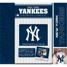 New York Yankees 12 x 12 Complete Scrapbook Kit