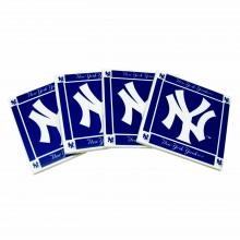 New York Yankees 4-Pack Ceramic Coasters