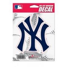 """New York Yankees 5"""" x 5"""" Die-Cut Window Decal"""