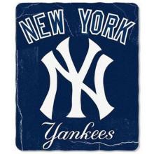 "New York Yankees 50"" x 60"" Lightning Fleece Throw Blanket"