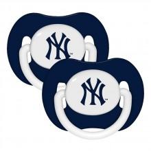 New York Yankees Baby Fanatics 2 Pack Pacifiers