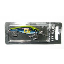 Georgia Tech Yellow Jackets Minnow Crankbait Fishing Lure