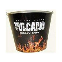 Vulcano Energy Drink Feel The Power Beer Bucket