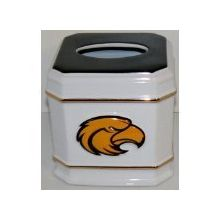 NCAA Officially Licensed University of Southern Mississippi Golden Eagles Ceramic Tissue Box Cover
